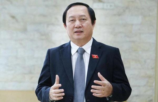 Bộ trưởng Bộ Khoa học và Công nghệ Huỳnh Thành Đạt. Ảnh VGP/Hoàng Giang